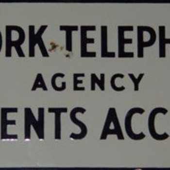 New York Telephone Angency Payments - Telephones