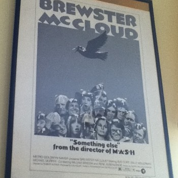 """Brewster McCloud"" Press Book"