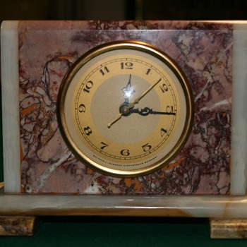 Pristine Hammond Marble - Clocks