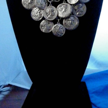 Silver Coins Necklace and Bracelet? - Costume Jewelry
