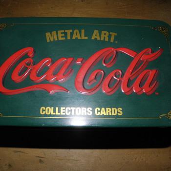 Coca Cola tin - Coca-Cola