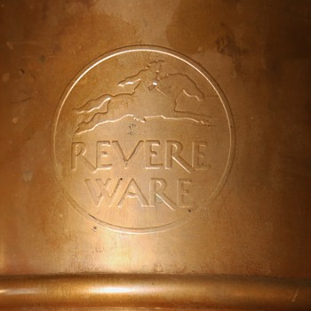 Very Large Revere Ware Commemorative Copper Can? - Arts and Crafts