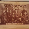 1899/1901 Seymour Maroon Baseball Club Meets Cigar Box - Best of Both Worlds for Collectors