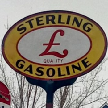 Sterling Gasoline - Signs