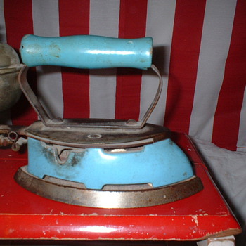 Coleman Gas Iron & Sad Iron - Kitchen