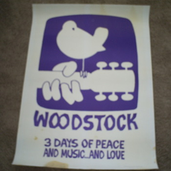 Woodstock Movie Poster - Full Sheet - Posters and Prints