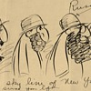 C.D. Russell Original Cartoon 1920s