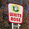 1960 Canadian WHITE ROSE SERVICE STATION sign