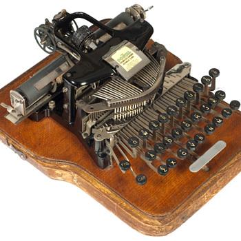 Postal typewriter - 1902 - Office