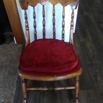 Wooden Rocking Chair - Furniture