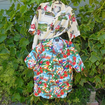 Salem Oregon Yard Sale Hawaiian Shirts Buy! And How!!! :^) - Mens Clothing