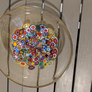 Murano millefiore bowl - Art Glass