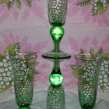 Green Goblets - Glassware