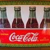 Small coca cola plaque