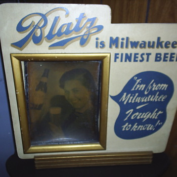 antique beer sign - Signs
