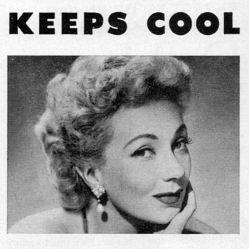 1952 - Ann Sothern for Fedders Air Conditioners - Advertisement - Advertising