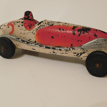 Sun Rubber #3 Racer made from Rubber - Model Cars
