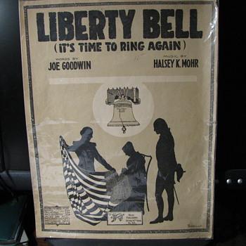 Liberty Bell (It's time to ring again) -- Sheet Music - Music Memorabilia