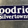 Goodrich silvertowns tires and tubes porcelian sign