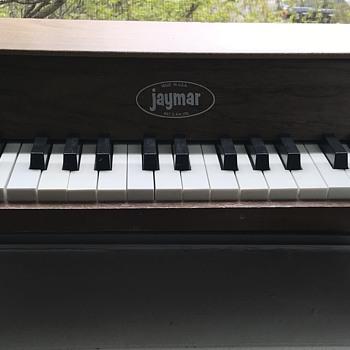 Vintage Jaymar Toy Piano. - Toys