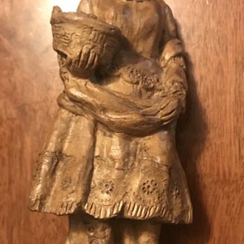 Sculpture of lady  - Fine Art