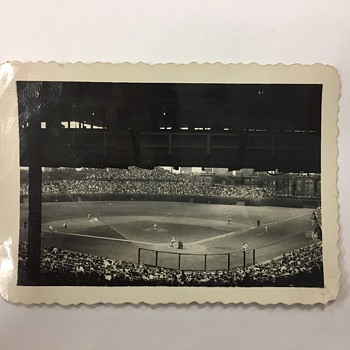 1940s-1950s Wrigley Field/Chicago Cubs Velox A32 Photo - Baseball