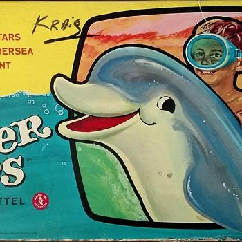 Flipper Flips! An Undersea Treasure Hunt Game By MATTEL!  - Games