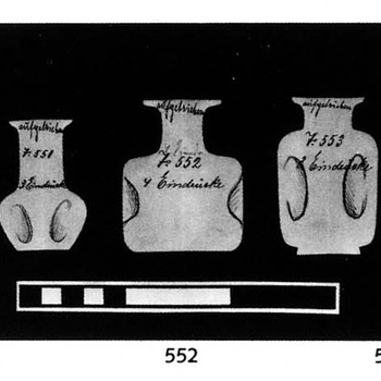 LOETZ II_551 (1900) IN TWO DECORS: AST and MERCUR - Art Glass
