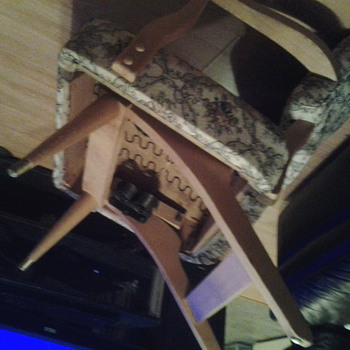 Unkown make spring rocker chair
