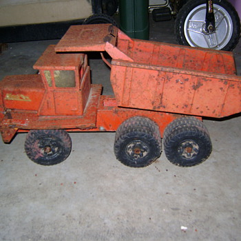 "Cactus planter dump truck ""Buddy L"" - Model Cars"