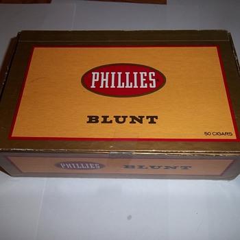Phillies Blunt Cigar Box - Tobacciana