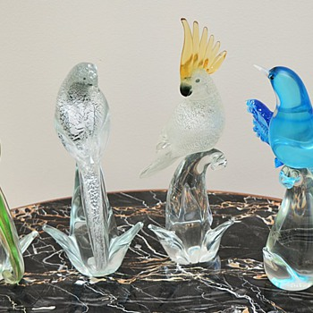 Murano Birds by Formia - Art Glass