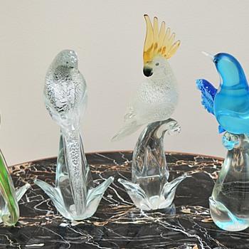 Murano Birds by Formia - Art Glass
