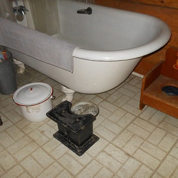 Antique Detecto Bathroom Scale - Tools and Hardware