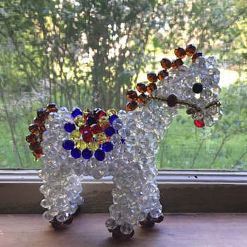 My favorite crystal horse.  - Animals