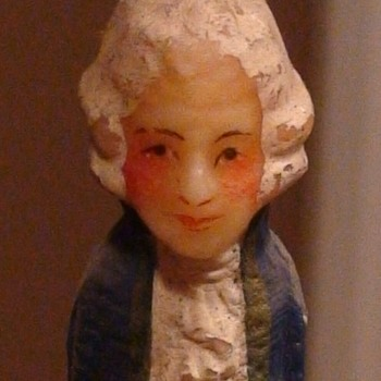 Vintage Colonial Candles of Cape Cod George & Martha Washington and Vintage Candle Holders