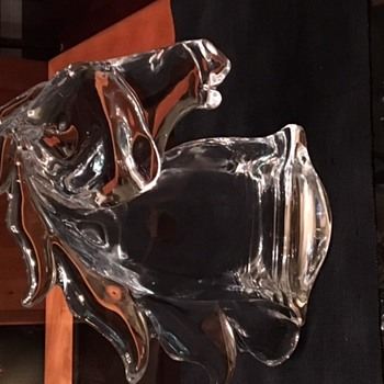 Tiffany Crystal Horse