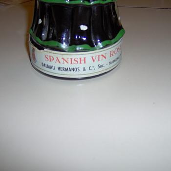 spanish lady wine bottle - Bottles