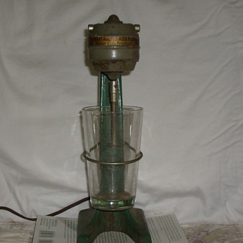 early Polar Club Malted Milk Mixer, also early Hamilton Beach Mixer - Kitchen