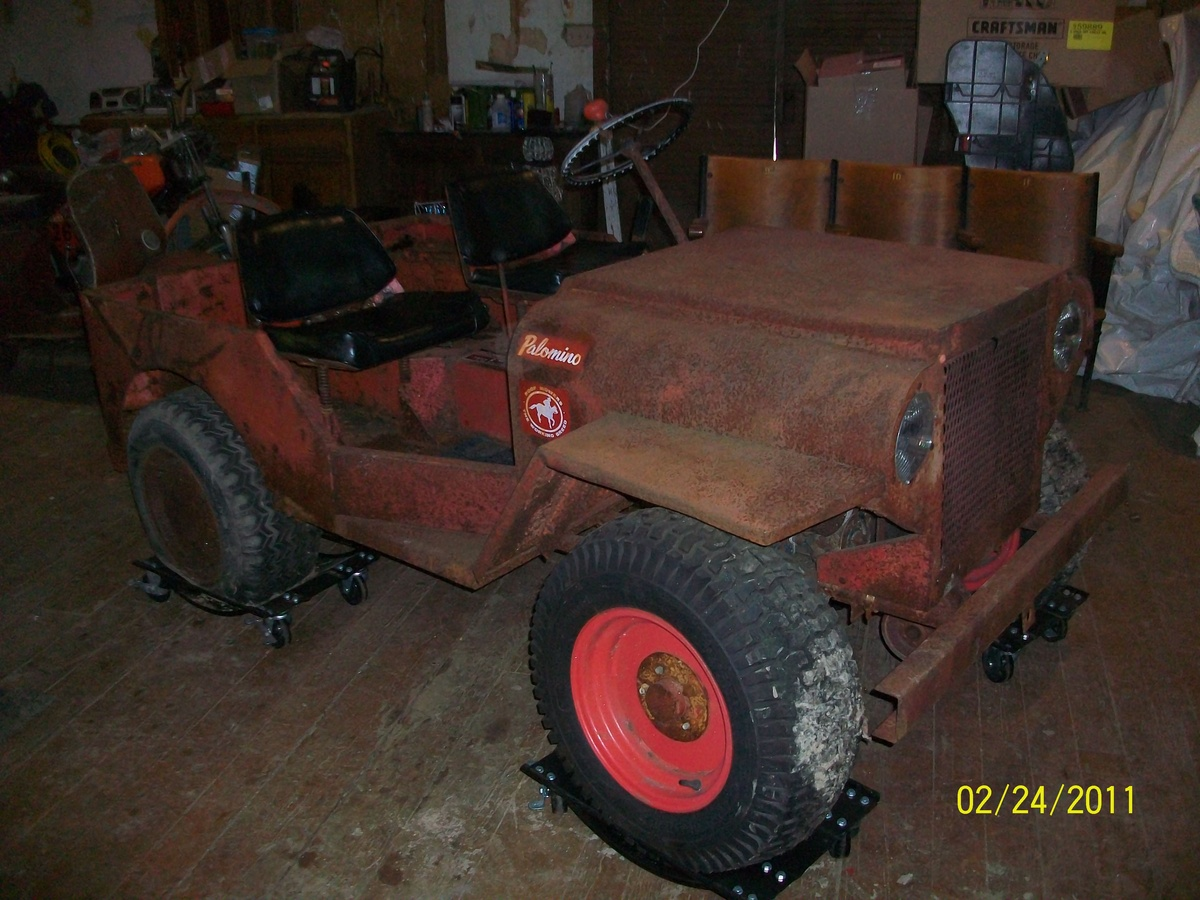 1968 Roof Palomino Mini Jeep Mower Collectors Weekly