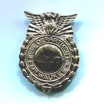 An Unusual Badge - Firefighting