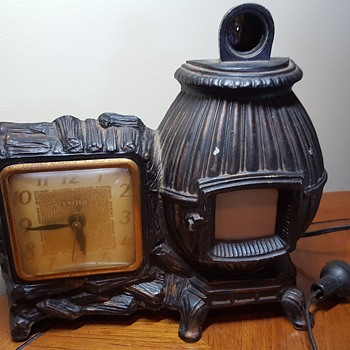 Pot Belly Stove Clock - Clocks