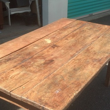 farm table bought in virginia - Furniture