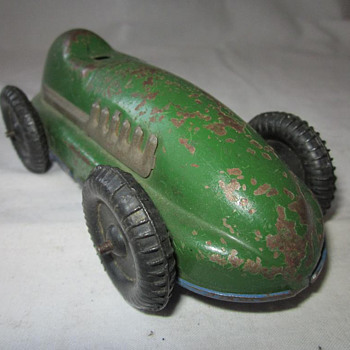 Green Clockwork Racer - Model Cars
