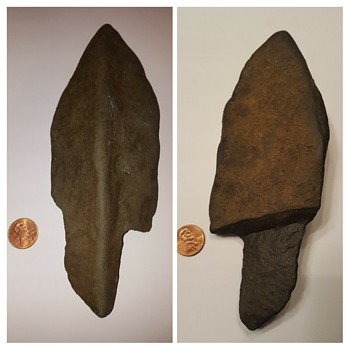 What kind of lithic is this? Way too large to be an arrowhead... - Native American