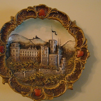 Antique Wall Plate/Hanging ~  - Pottery