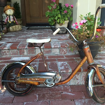"Vintage ~""50's kids bicycle - unreadable make, unmatchable style!"