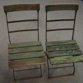 Wrigley Field 1920s/1930s Folding Chairs