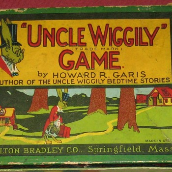 Early 1900's Milton Bradley Co. Uncle Wiggily Board Game (Complete) - Games