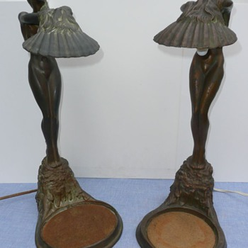 McClelland Barclay Lamp duo
